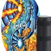 Indoboard Original con rullo - Colorate - original-yin-yang